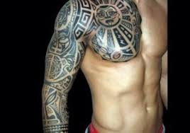 sleeve tattoos tribal get going amazing sleeve