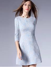 semi formal dress formal floral retro dress