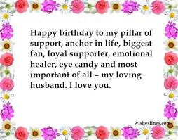 birthday wishes for your husband 50 romantic birthday messages