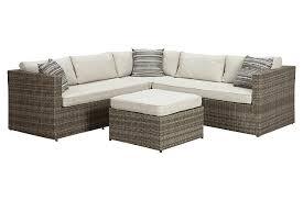 Peckham Park Piece Outdoor Sectional Set Ashley Furniture - Outdoor furniture sectional