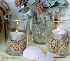 Ikea Tea Lights by Fall Centerpiece Ideas