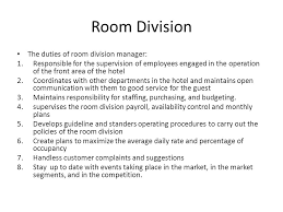 Front Desk Hotel Responsibilities Front Office Operations Ppt Online Download