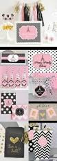 Paris Themed Party Supplies Decorations - paris party supplies and decorations kit for birthday party or