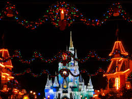 disney world cinderella s castle for the holidays olp travel