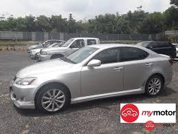 lexus sedan price malaysia 2010 lexus is250 for sale in malaysia for rm91 800 mymotor