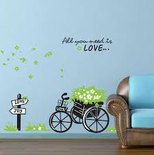 room mates abc tree giant wall decal reviews wayfair haammss cycling living room childrens wall stickers removable baby typesetting size 70cm 50cm home decorators