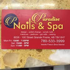 paradise nails u0026 spa home facebook