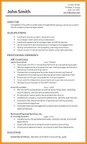 sample resume cpa junior accountant resume sample sample resumes
