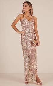 sequin dresses be my lover dress in gold sequin showpo