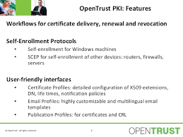 opentrust pki solution overview