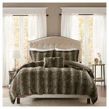 brown duvet covers target