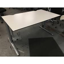 White Office Desk by Aof Second Hand Office Desks Used Office Desks