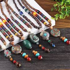 beaded necklace styles images Beaded handmade nepalese necklaces 9 styles available jpg