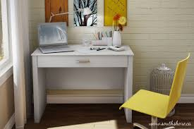 Small Writing Desk With Drawers by South Shore Work Id Desk Walmart Canada