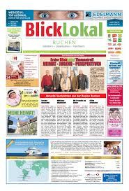 Atu Bad Mergentheim Blicklokal Buchen Kw06 2017 By Blicklokal Wochenzeitung Issuu