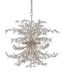 Chandelier Company Crystal Bud Silver Wreath Chandelier The Designer Insider