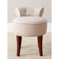 Vanity Stools And Chairs Safavieh Georgia Taupe Linen Vanity Stool Mcr4546a The Home Depot