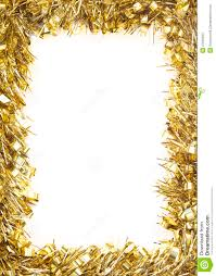 gold tinsel garland stock image image of gold shiny