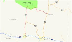 Arizona Map Google by Arizona State Route 64 Wikipedia