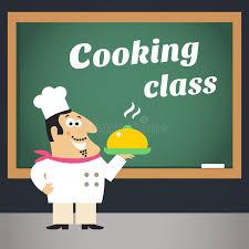 affiche atelier cuisine affiche de la publicité de cours de cuisine illustration de vecteur