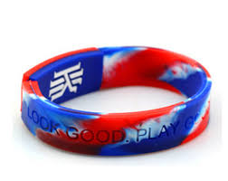 bracelet rubber images 1pcs top quality k letter deuce bangle silicone energy wristband jpg