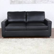Sofa With A Pull Out Bed Faux Leather Sofa Beds You U0027ll Love Wayfair