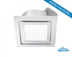 bathroom exhaust fan with led light dact us