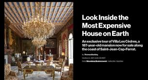 World S Most Expensive House The World U0027s Most Expensive House Is On Sale For 410 Million