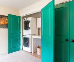 Laundry Closet Door Laundry Closet Doors Room Style With Washer Wooden Outdoor