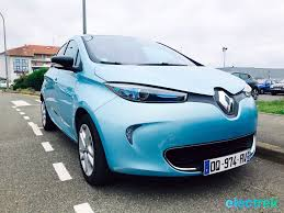 renault zoe electric 27 renault zoe blue turquoise electric front design vehicle