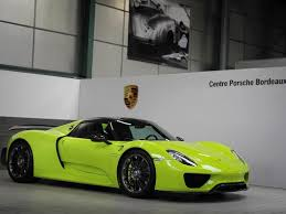 porsche 918 acid green colors of porsche colorsofporsche c antonin vincent 918 spyder