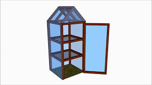 mini greenhouse plans youtube