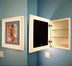 wood framed recessed medicine cabinet wood framed recessed medicine cabinets stlouisco me
