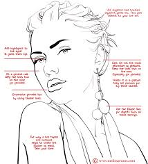 tutorial vector c turn photos of people into line art the kitchen sink pinterest
