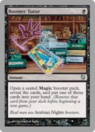 booster tutor unhinged gatherer magic the gathering
