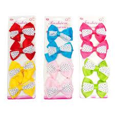 wholesale hair bows pc hair bows polka dots