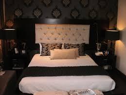 bed stores easy diy blue tufted headboard creative modern window