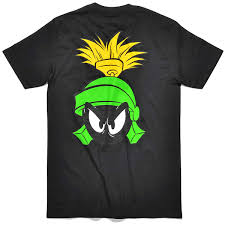 starter looney tunes noble marvin the martian t shirt black bei