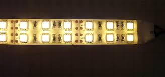 10 meter led strip lights dual line 120 leds m white light smd 5050 led strip