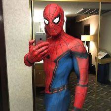 authentic spiderman costume ebay
