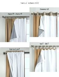 Light Block Curtains Blackout Curtain Liner Kulfoldimunka Club
