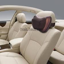 kneading massage pillow with heat car office chair massager neck