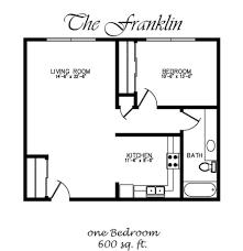 Big Garage Plans Apartments 600 Square Feet Square Foot Apartment Floor Plan