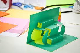 cut and fold led pop up books