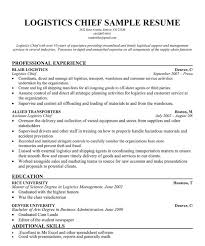 Sales Coordinator Sample Resume by Logistic Coordinator Resume