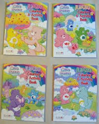 care bears giant coloring activity book caring
