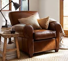 Pottery Barn Leather Pottery Barn Manhattan Leather Club Chair Special Order Selections