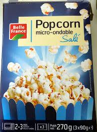 france3 fr cuisine popcorn micro ondable salé 3 90 g 270 g