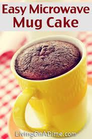 homemade warm delights easy microwave mug cake recipe