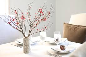 simple christmas table settings berry birch christmas table setting